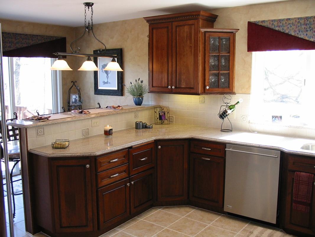 photos kitchens with cherry oak hickory or lyptus