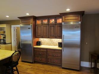 Photos   Kitchens With Cherry, Oak, Hickory, Or Lyptus Cabinets   Oxford  Kitchen U0026 Bath