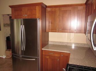 Quarter Sawn White Oak Cabinets